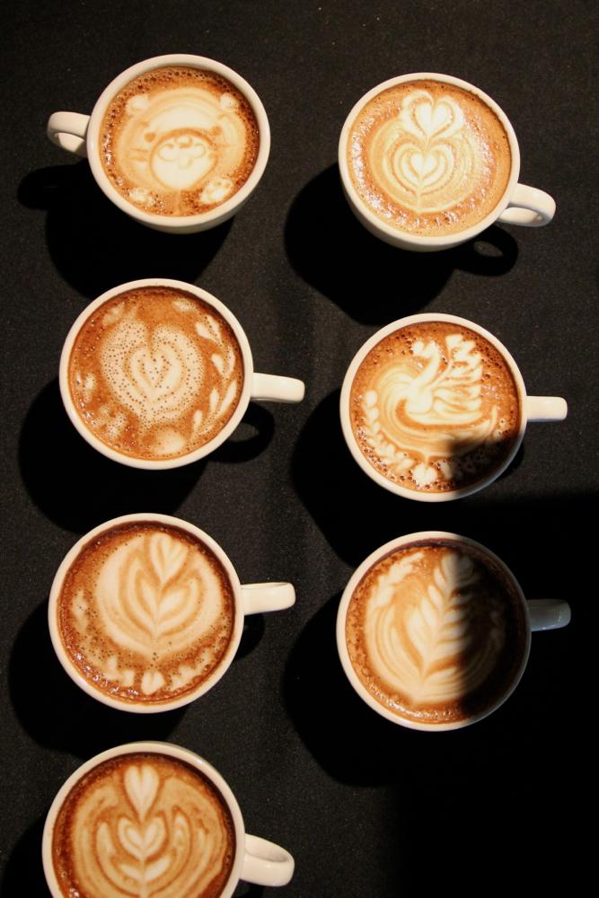 Latte Art Demos