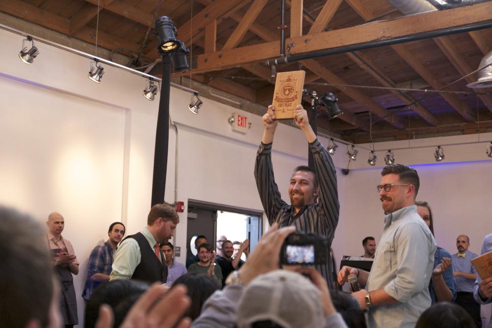 Todd Goldsworthy of  Klatch Coffee , LA wins the South West Regional Brewers Cup!