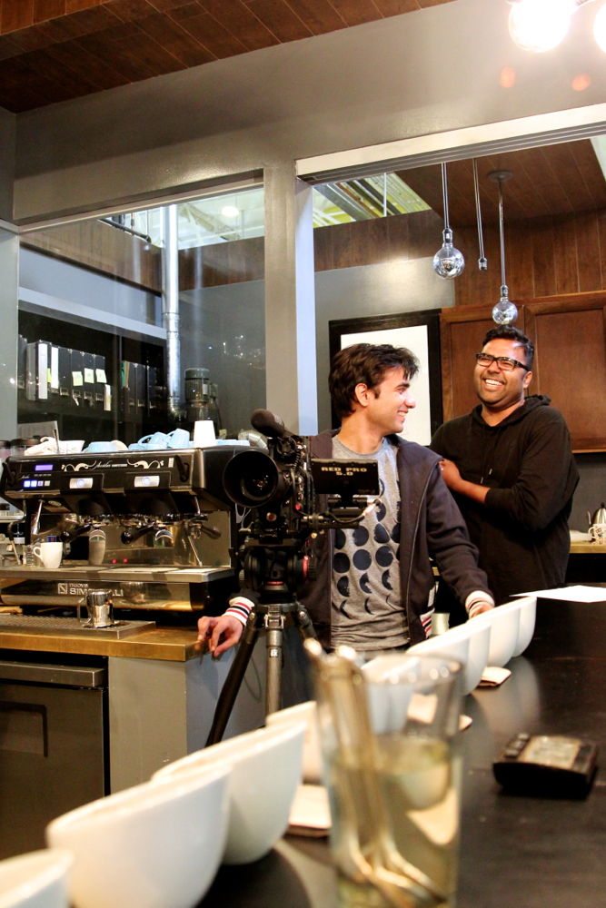 Cinematographer Roger Singh and Director Rock Baijnauth