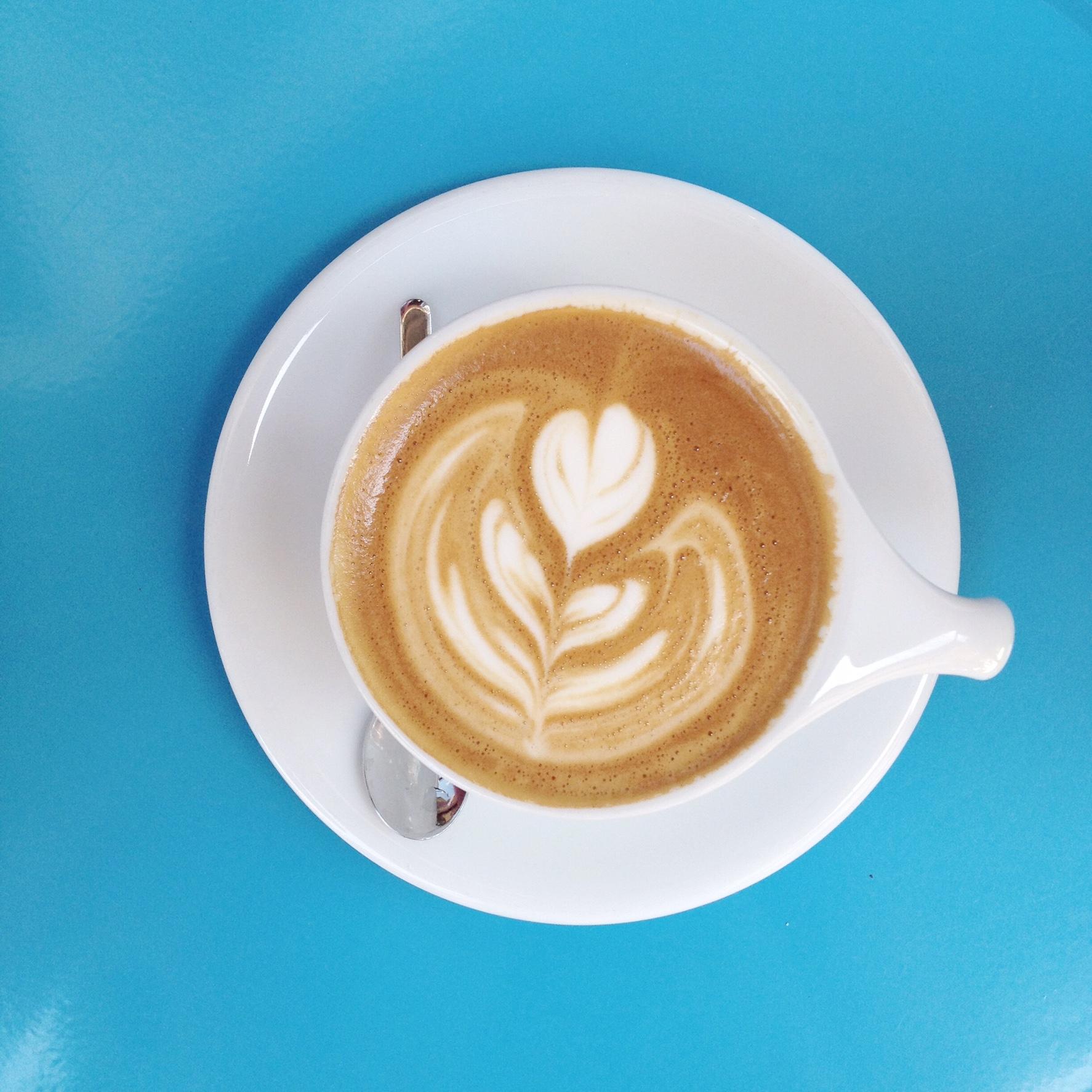 LINO cup at Handlebar Coffee, Santa Barbara