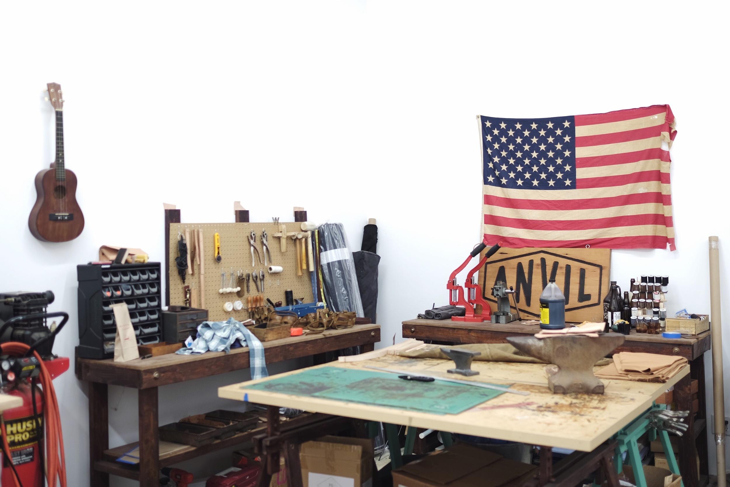 Anvil Handcrafted workshop