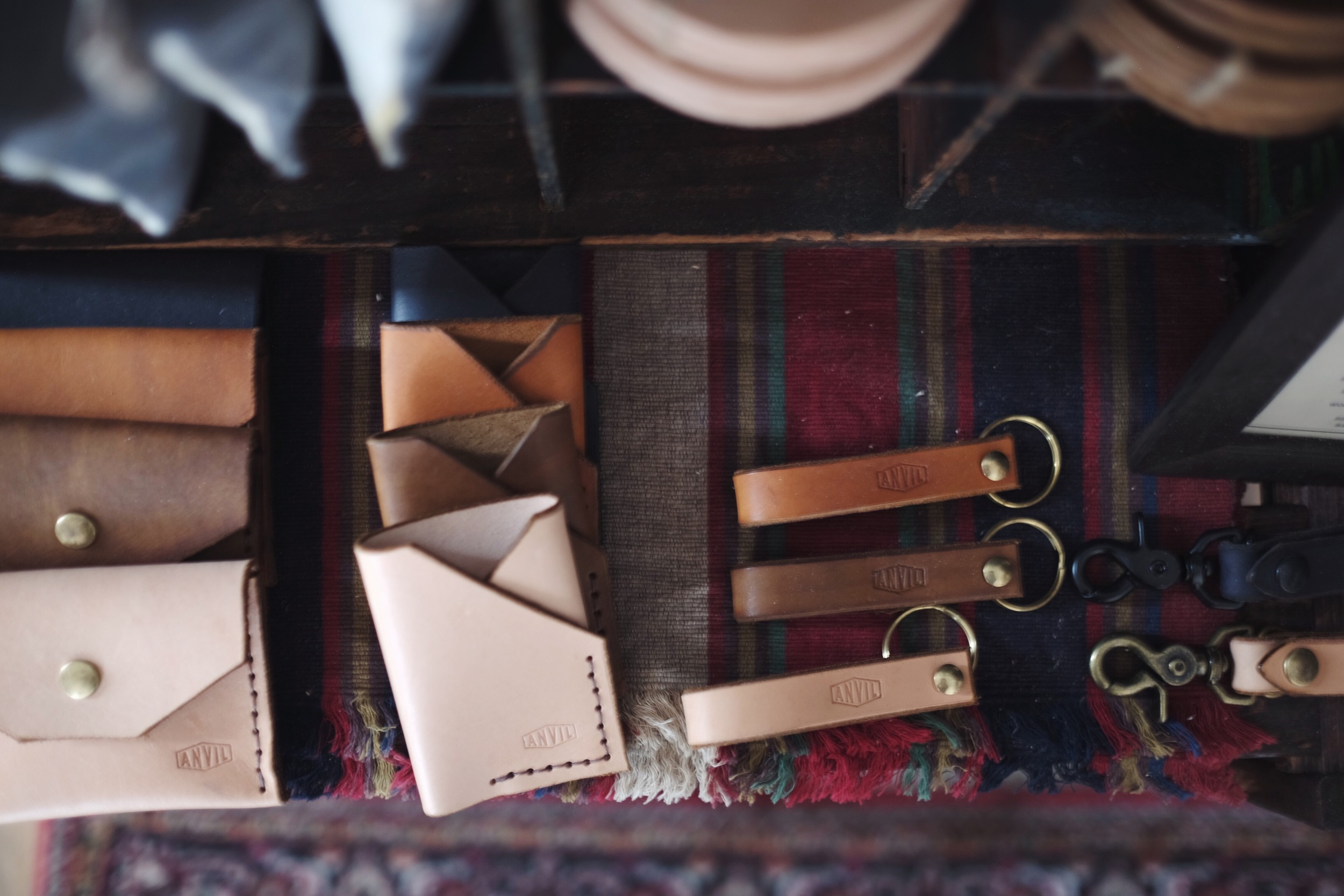 Anvil Handcrafted  leather goods