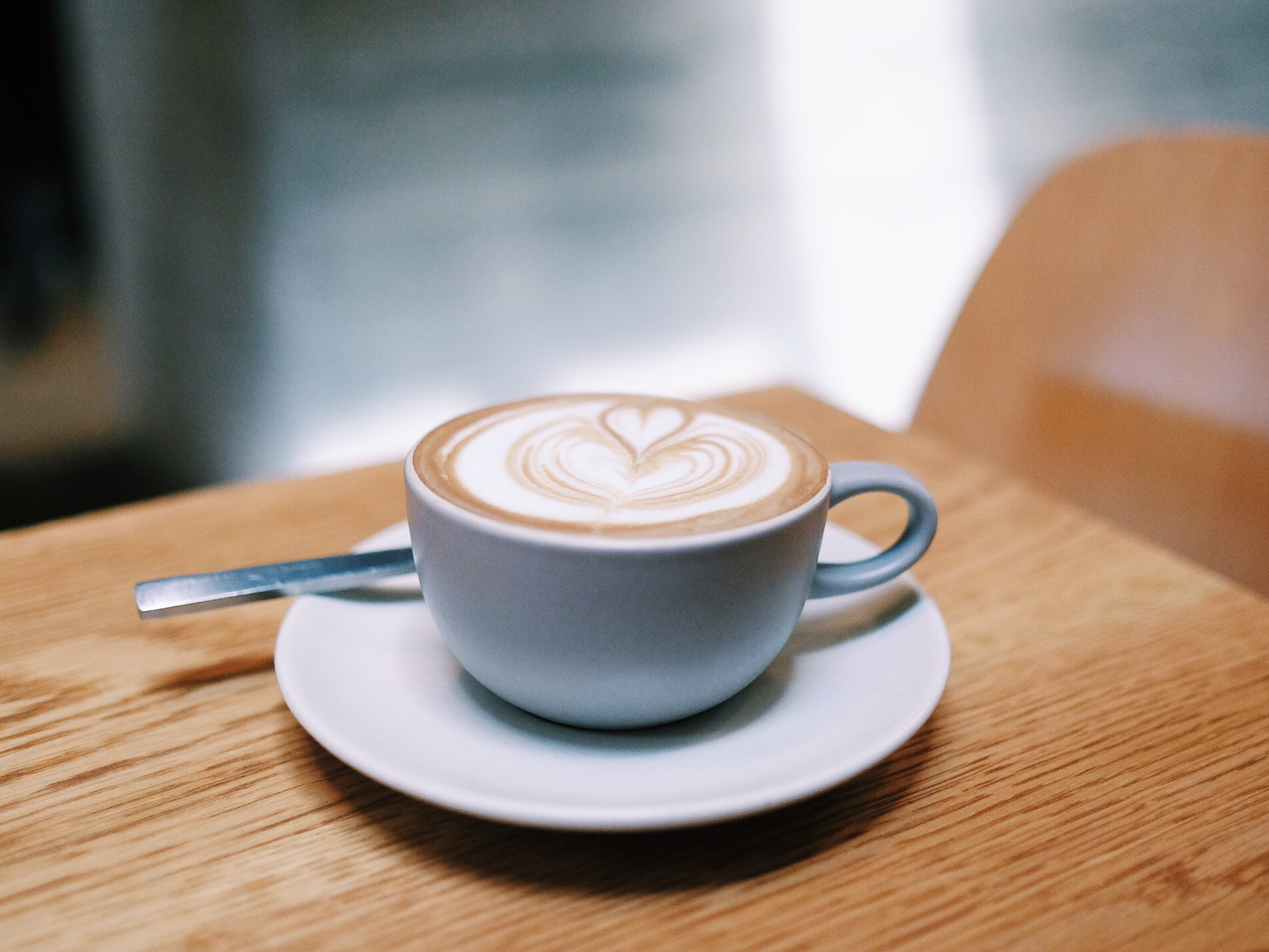 Housemade Almond Macadamia Milk Flat White, Paramount Coffee Project , Los Angeles