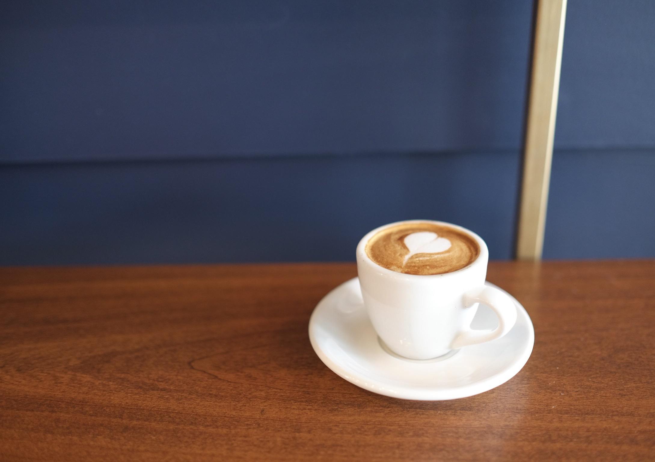 Fresh Almond Milk Macchiato,  Civil Coffee , Los Angeles