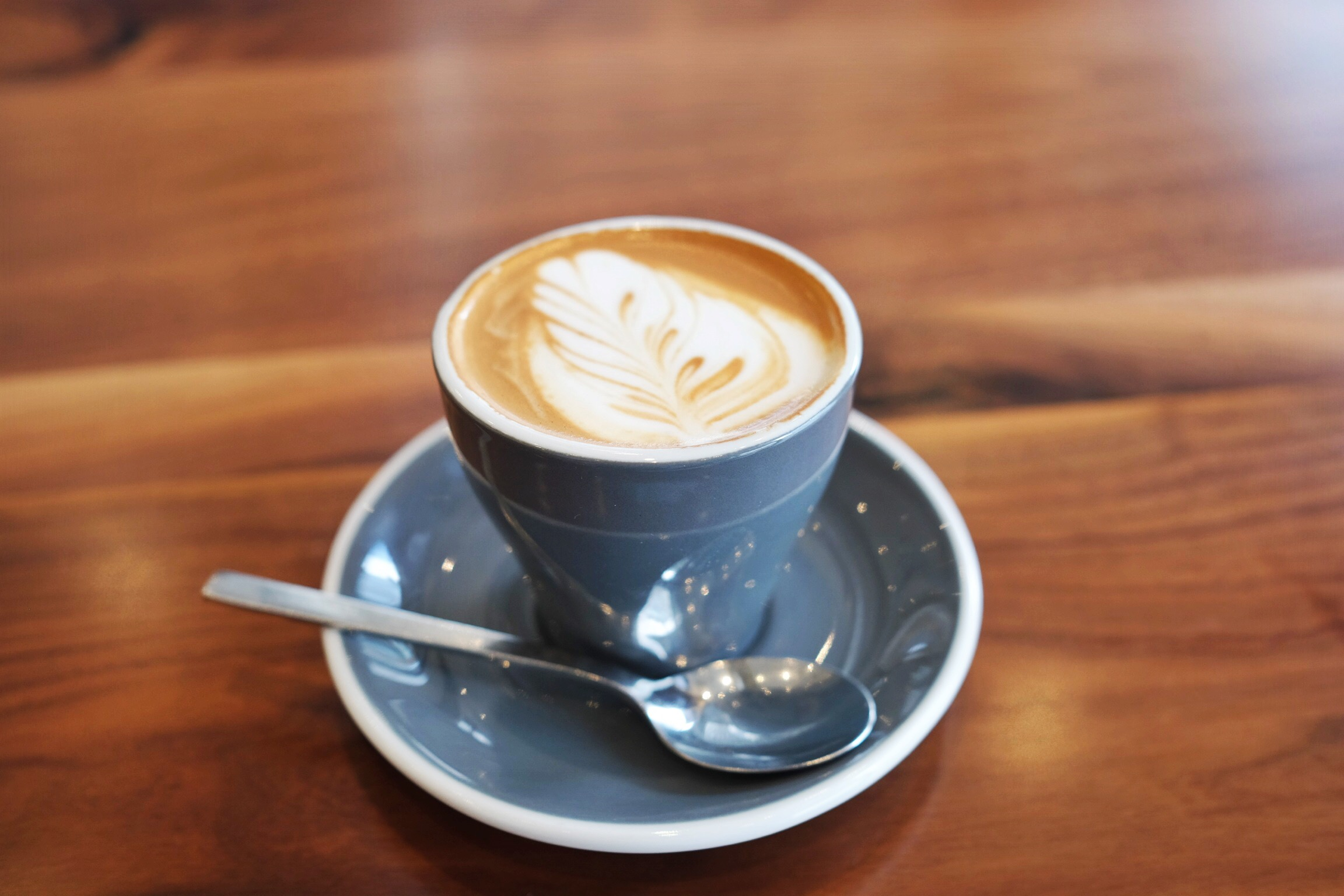 House-made Unsweetened Almond Milk Cappuccino,  Impact Kitchen , Toronto