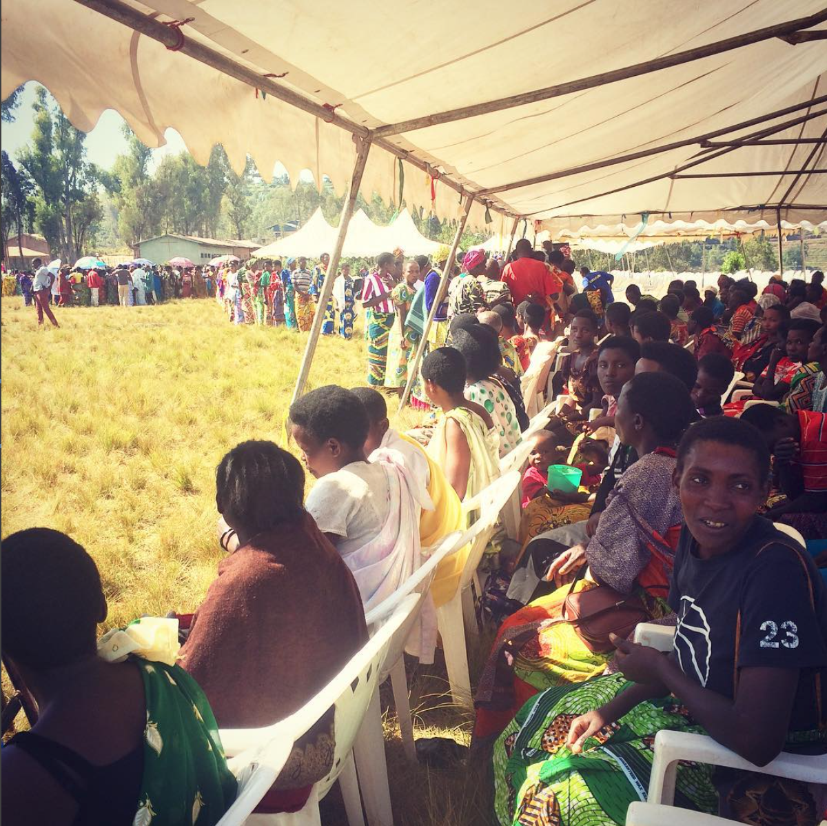 """""""The graduation of over 2000 women from a year long training program for the production, harvesting and processing of specialty coffee, and supporting a healthy household. A crowd of outstanding leaders."""" Photo by Aleida Stone"""