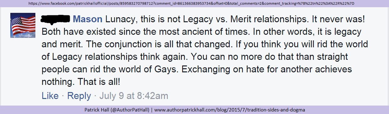 The comment of tradition, sides, and dogma.png