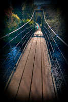 Rickety Bridge - Mount Usher Gardens - Joe Houghton