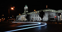 City Hall Light Trails, Lapps Quay, Cork