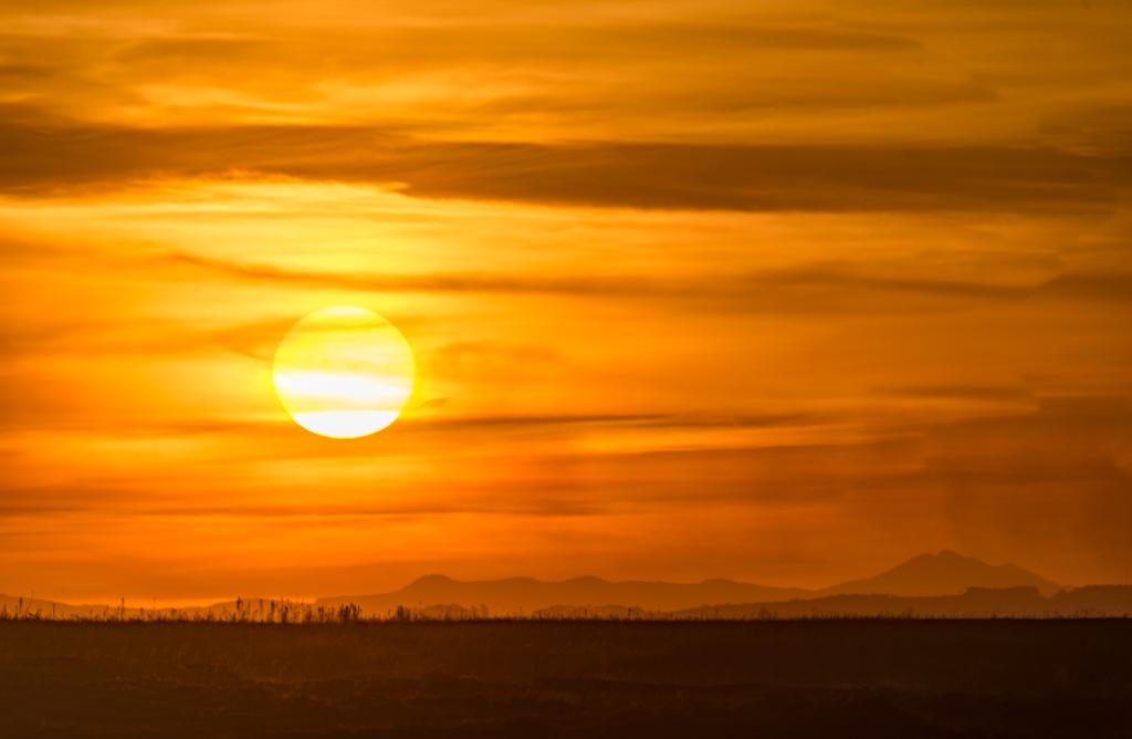 Oribi hills sunset
