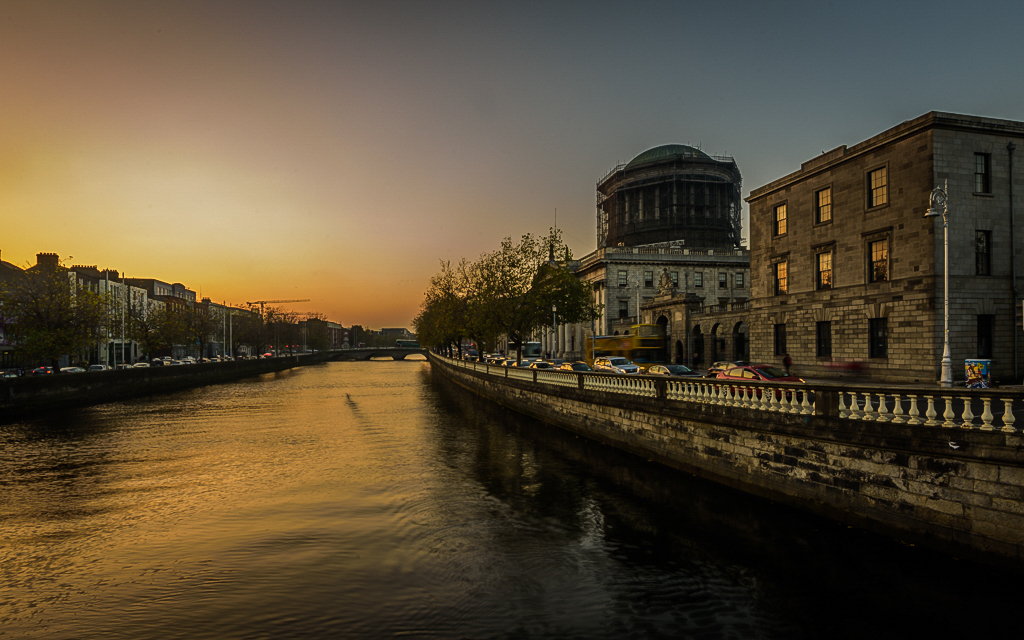 Four Courts Evening