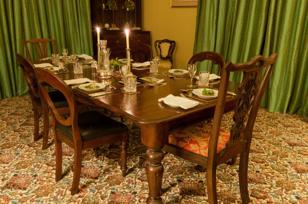 Dinner at St. John's House