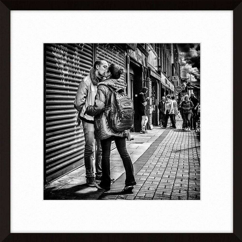 The Kiss - Captured a few streets away from Christchurch in The Liberties…