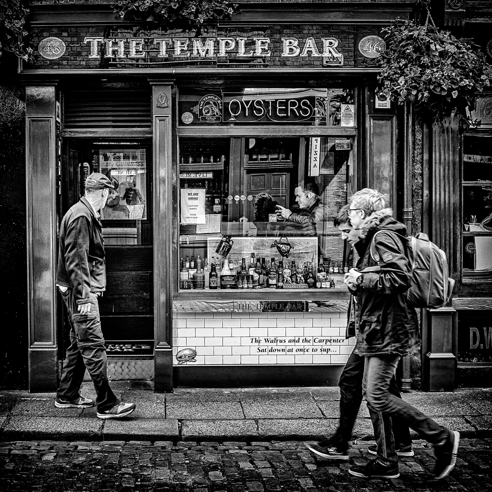 Passing The Temple Bar