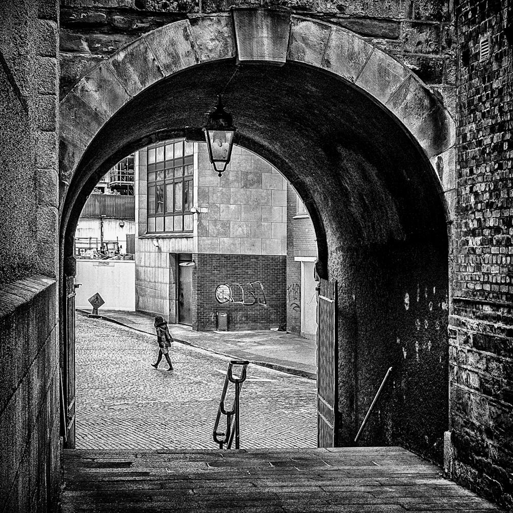 Archway lady
