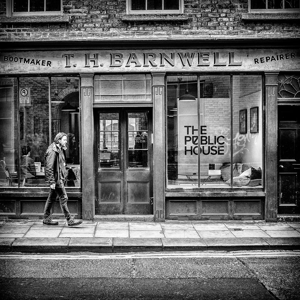 T. H. Barnwell, bootmaker