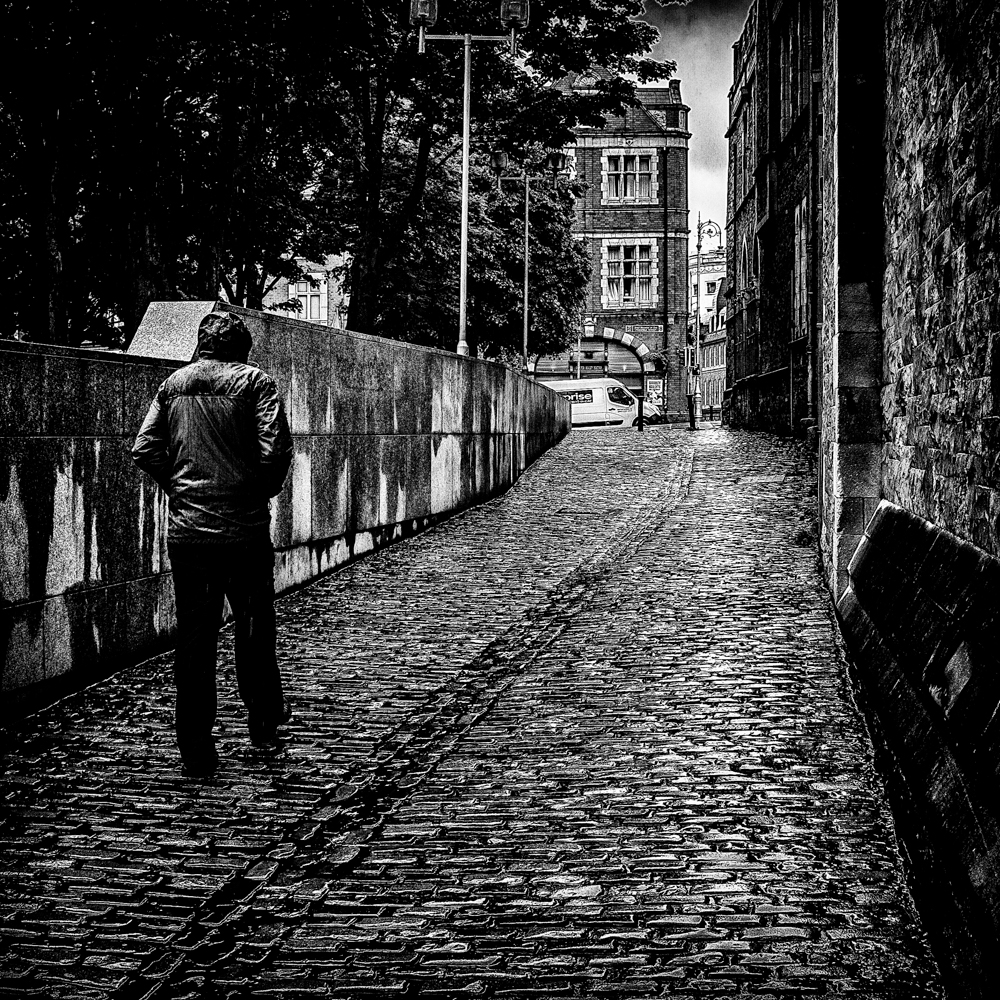 Up the alley