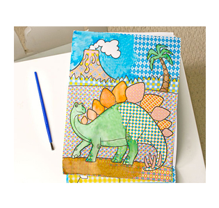 Melissa & Doug My First Paint with Water Kids' Art Pad - Blue
