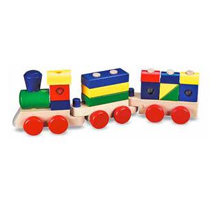 Melissa & DougStacking Train Toddler Toy