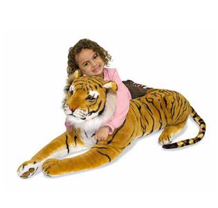 Melissa & Doug Tiger Giant Stuffed Animal