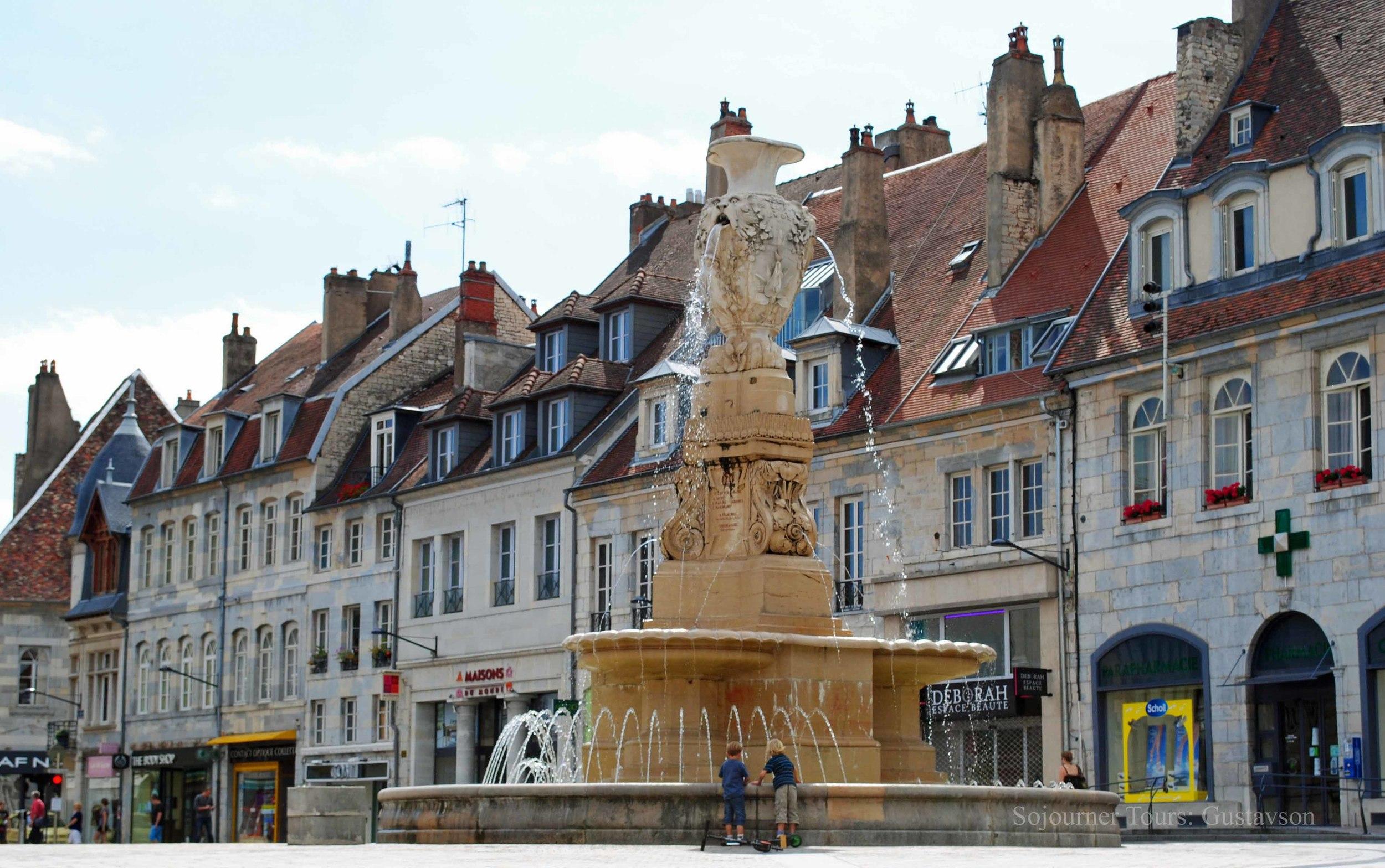 Besançon, France (Sojourner Tours)