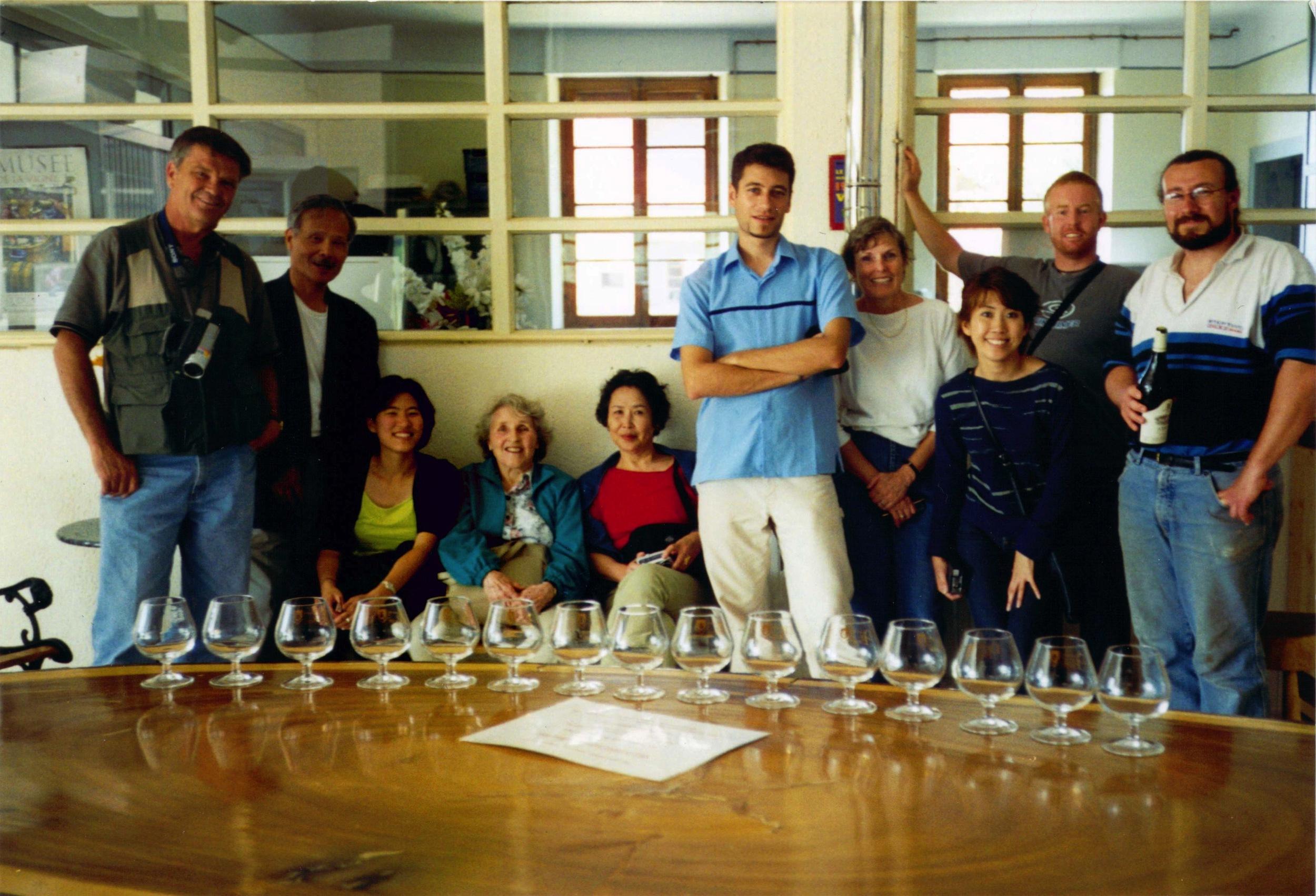 Wine Tasting at Domaine de La Pinte