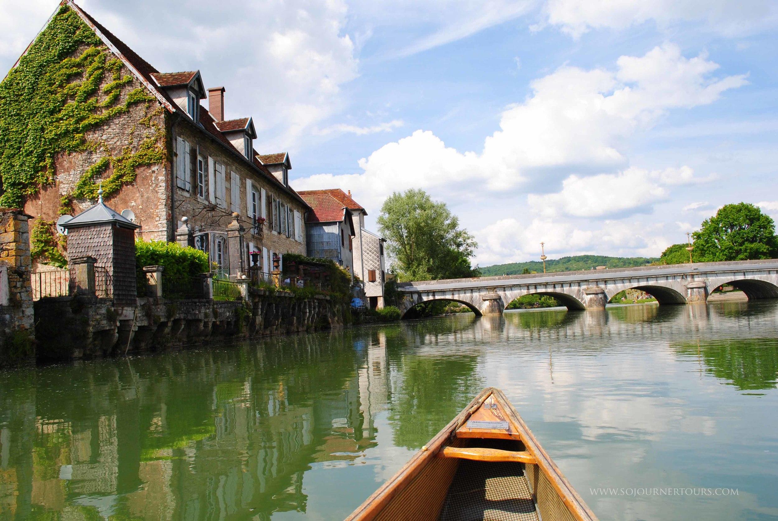Loue River: Franche-Comté, France (Sojourner Tours