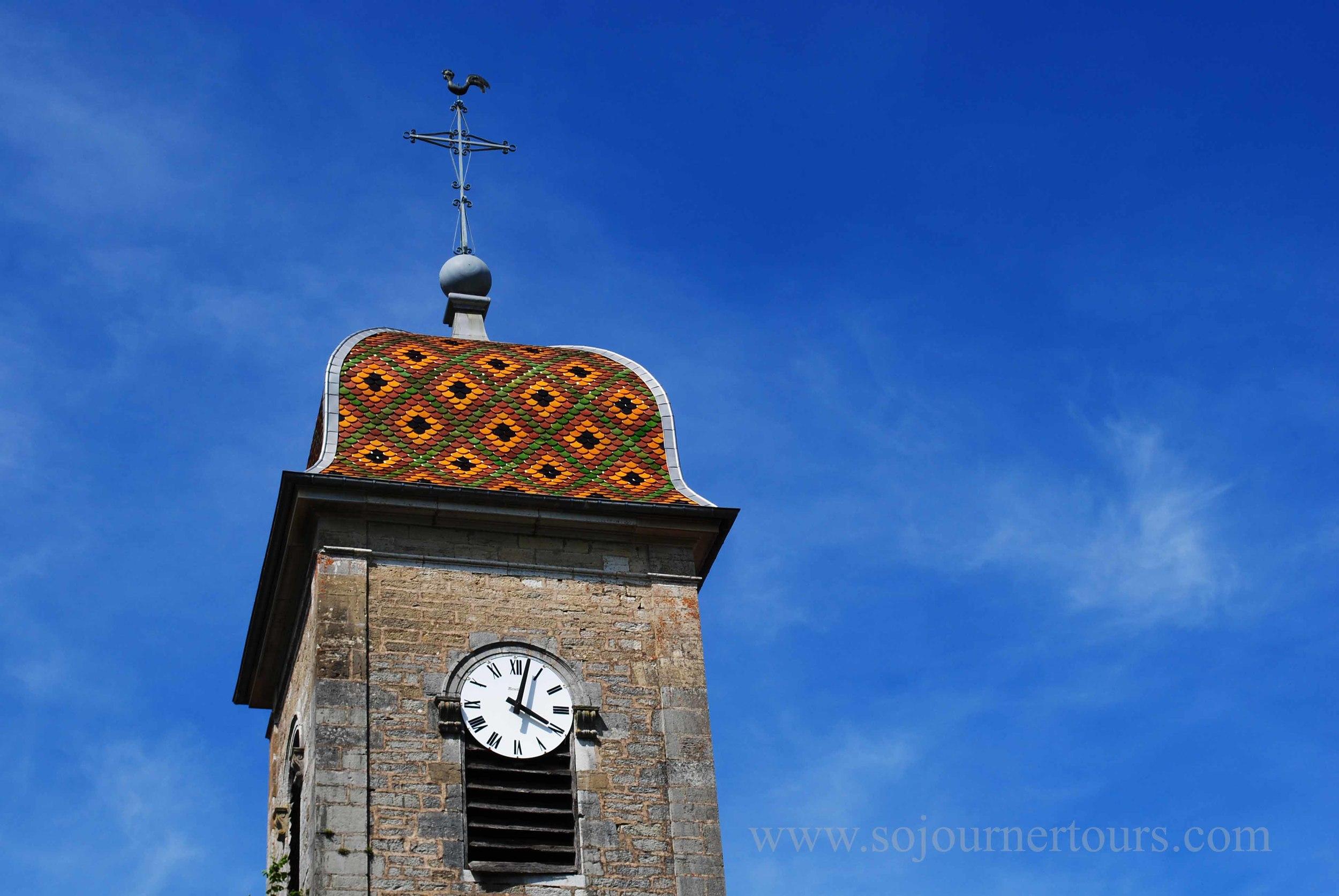 Church Steeple Franche-Comté, France (Sojourner Tours)
