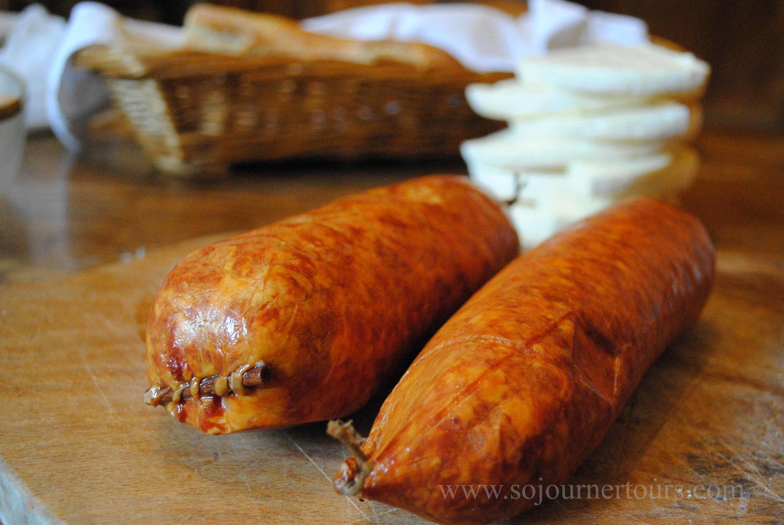 Sausage Franche-Comté, France (Sojourner Tours)