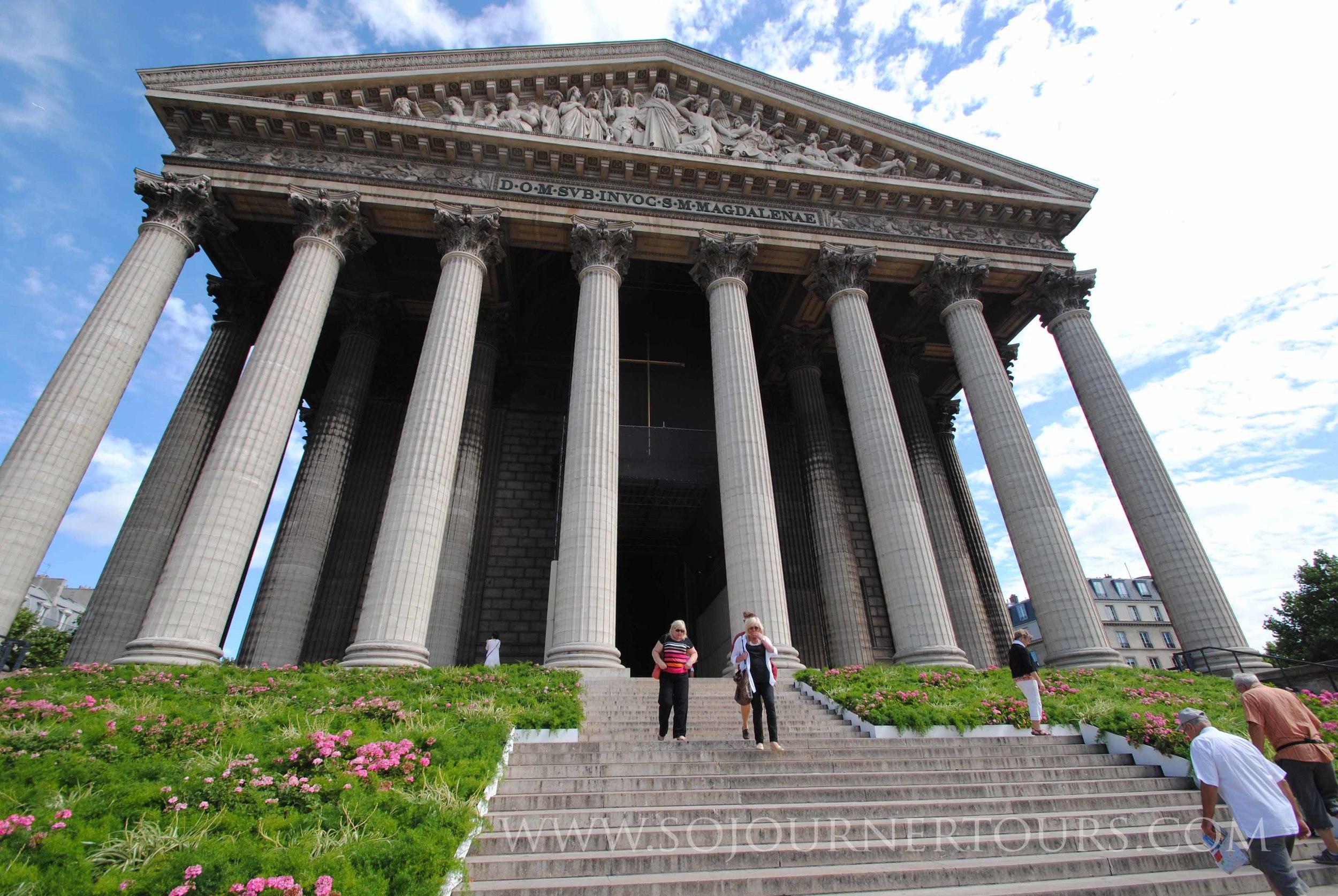 Eglise Madeleine: Paris, France (Sojourner Tours)