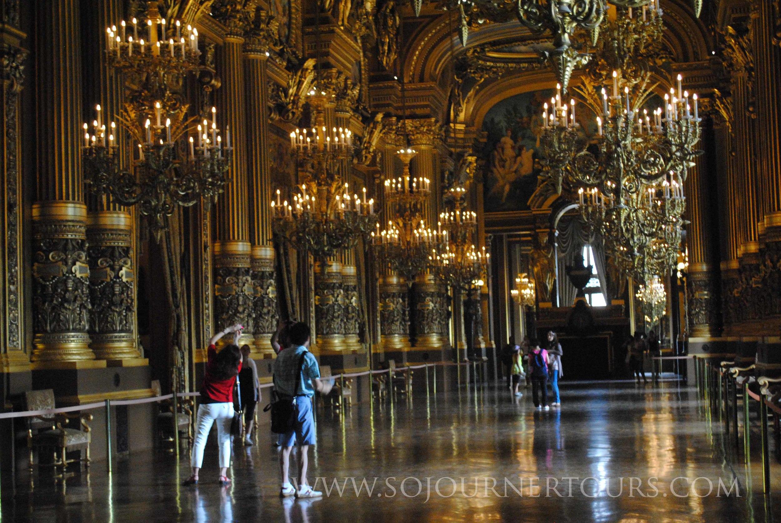Opera Garnier: Paris, France (Sojourner Tours)