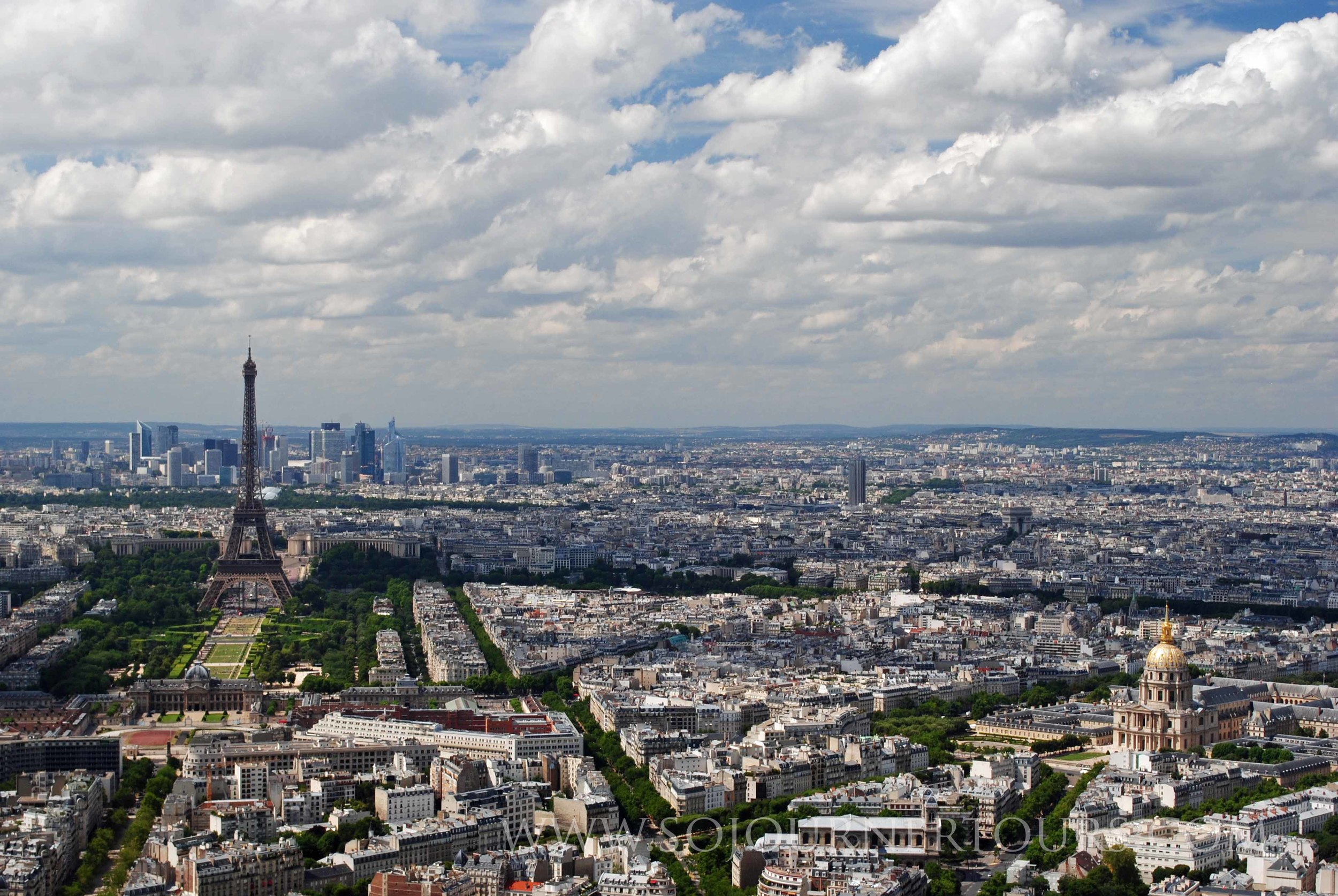 Montparnasse Tower: Paris, France (Sojourner Tours)