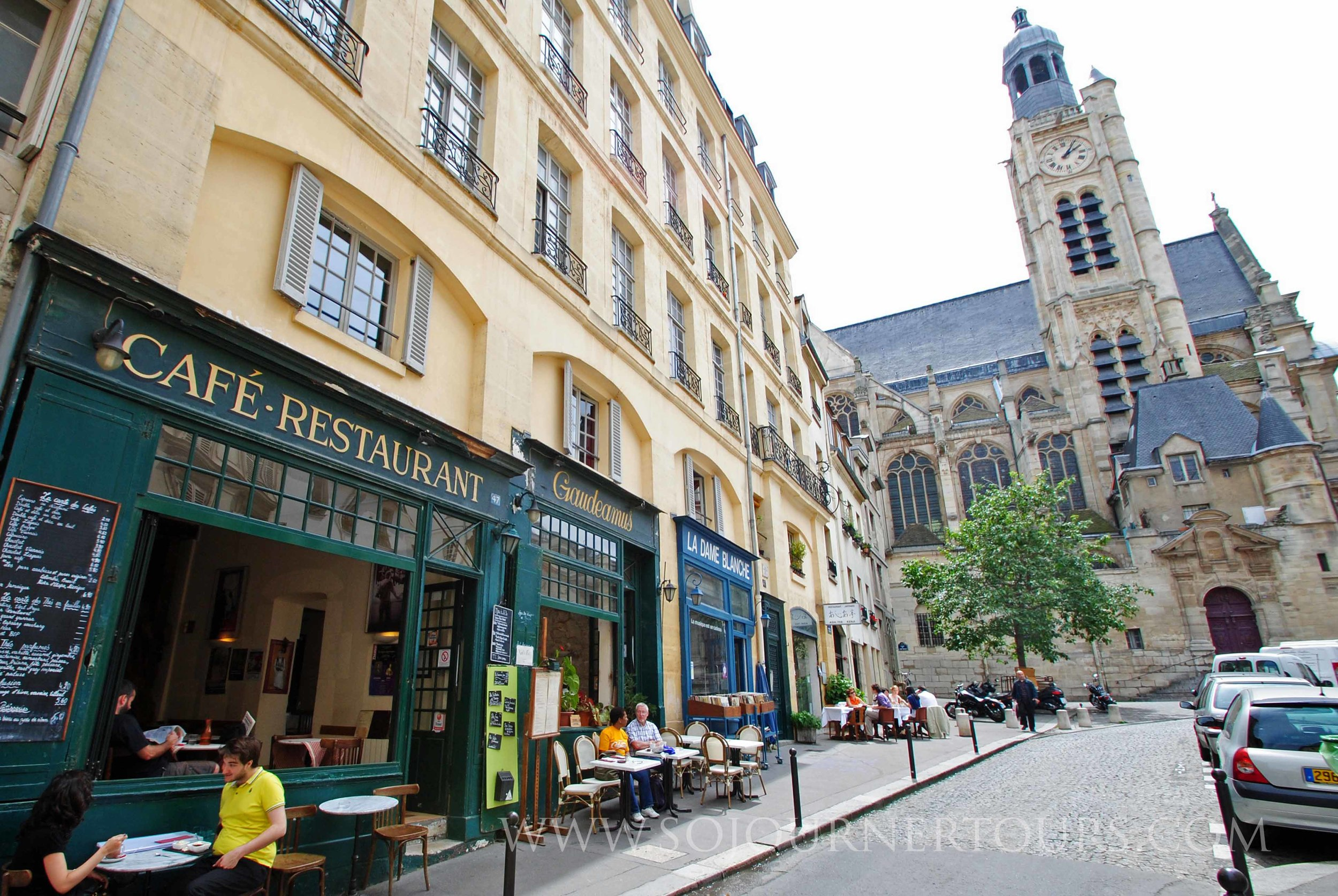 The Latin Quarter: Paris, France (Sojourner Tours)
