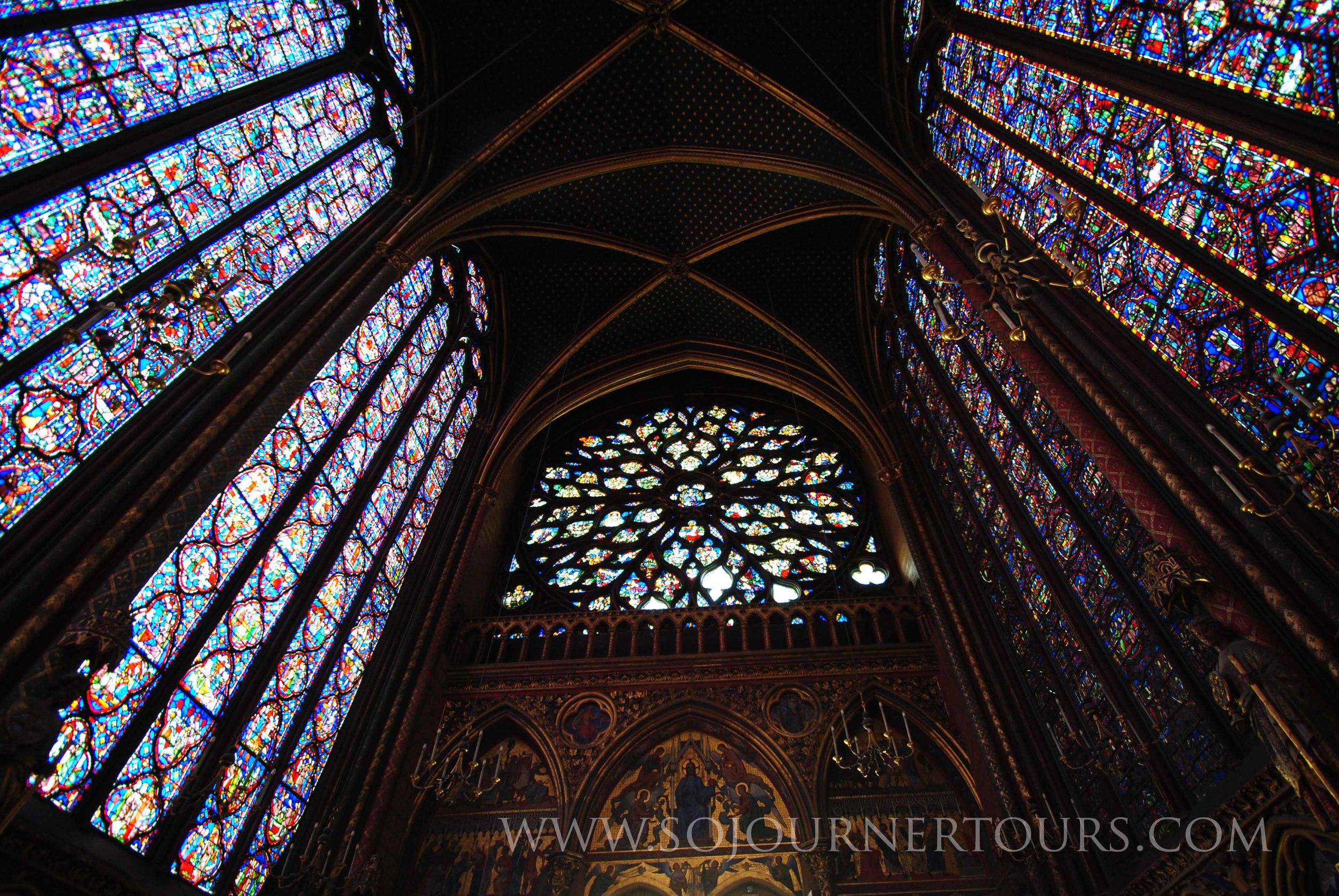 Sainte-Chapelle: Paris, France (Sojourner Tours)