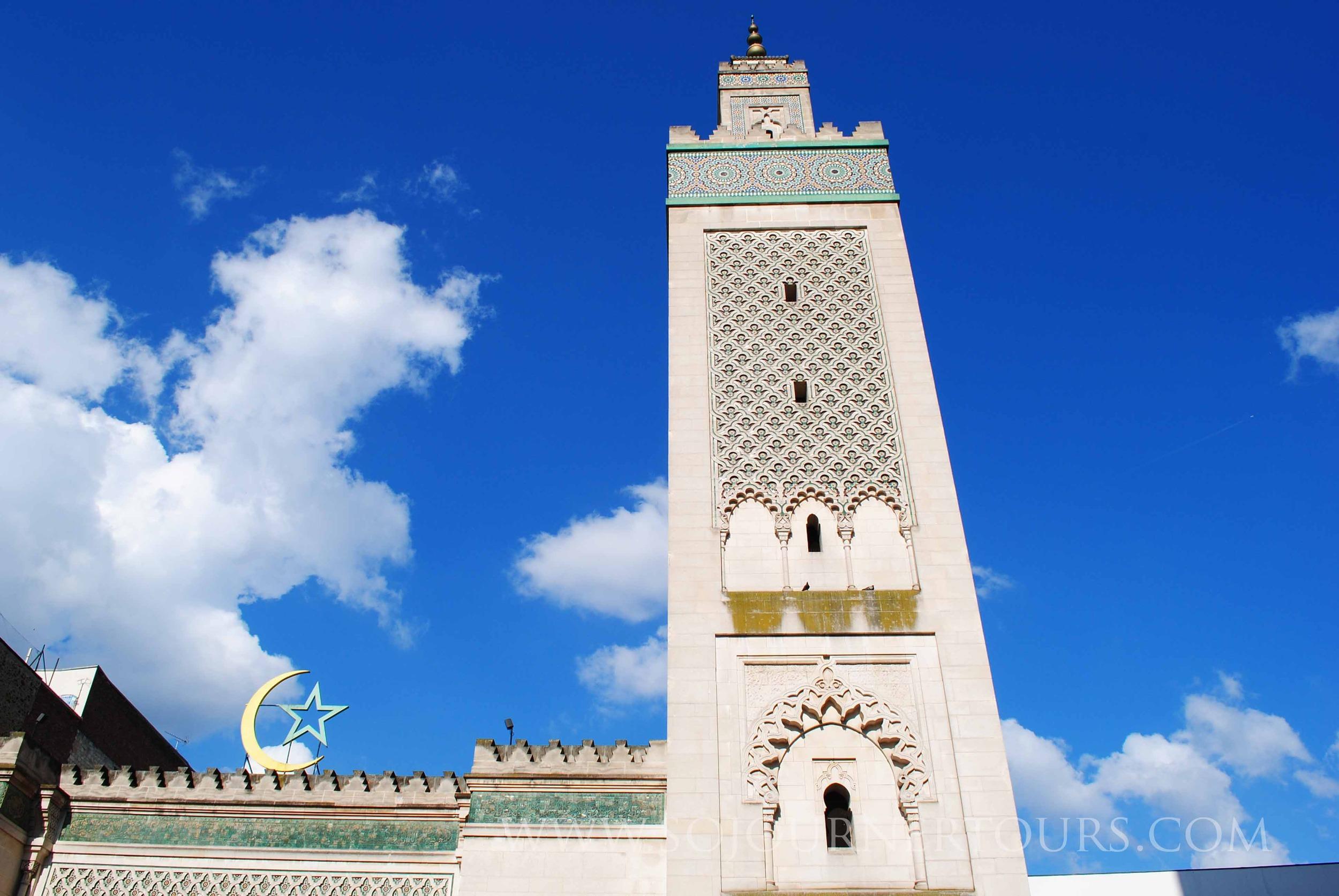 Grande Mosquée: Paris, France (Sojourner Tours)