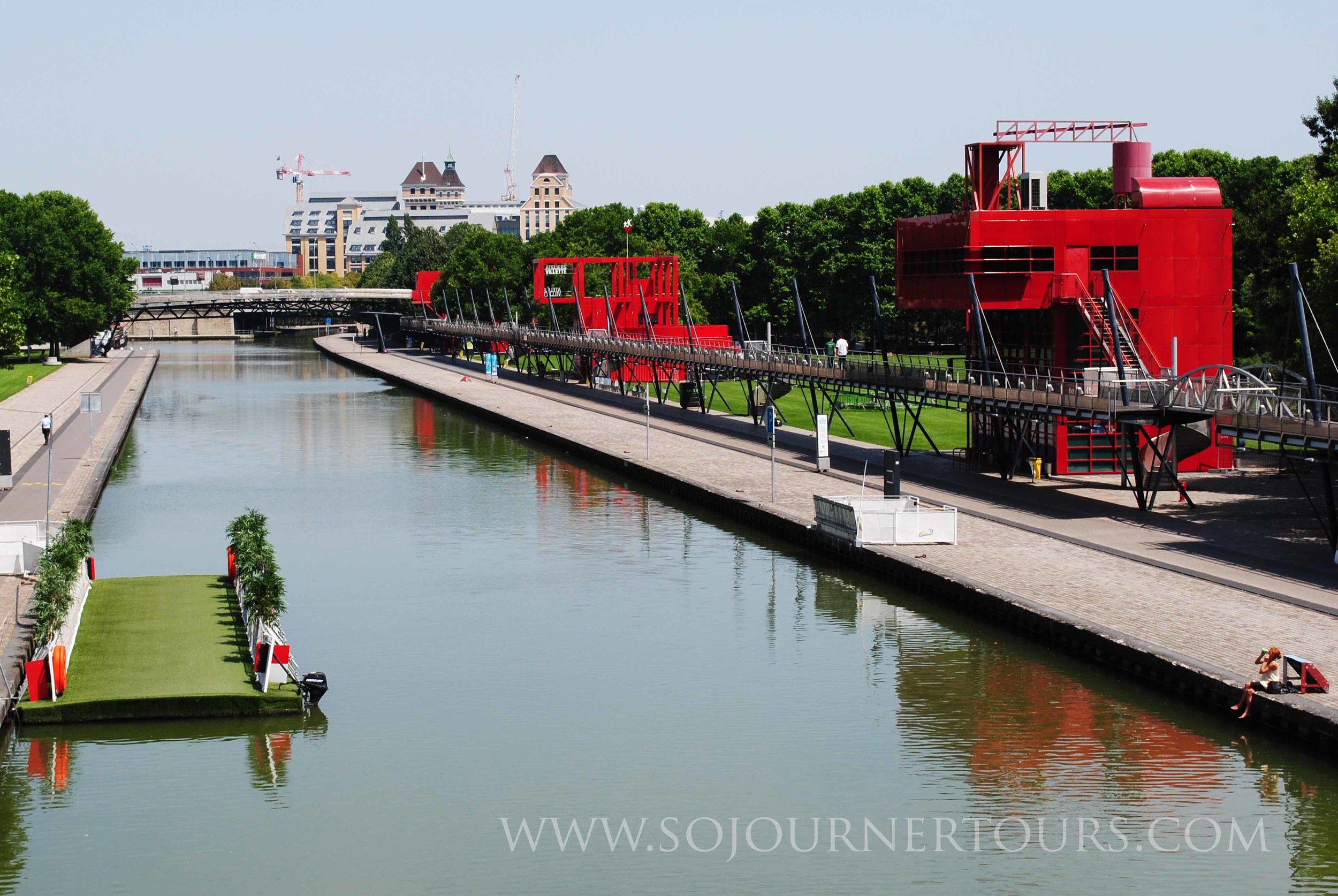 La Villette: Paris, France (Sojourner Tours)