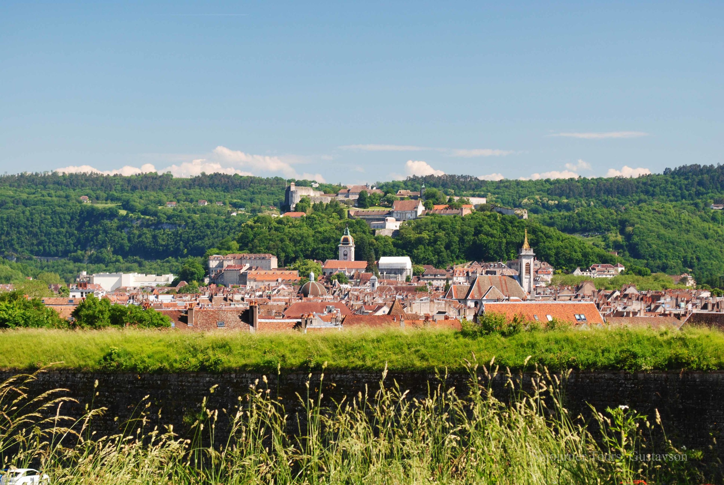 Besancon's Red Rooftops