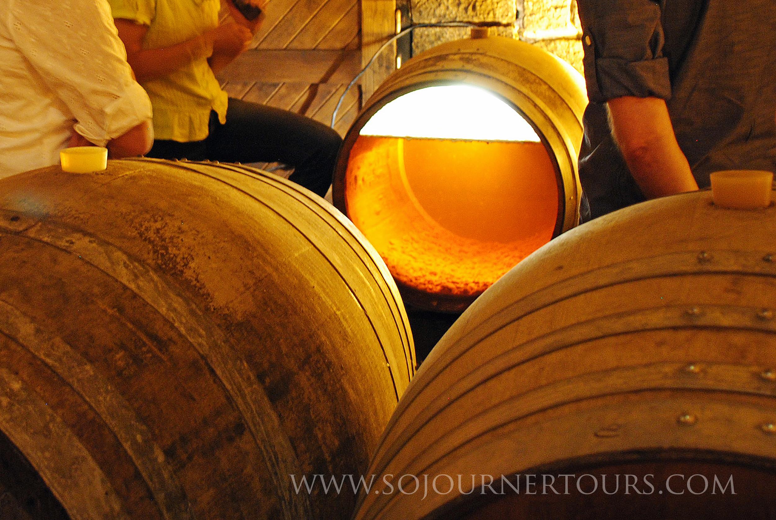Vin Jaune Observation Barrel
