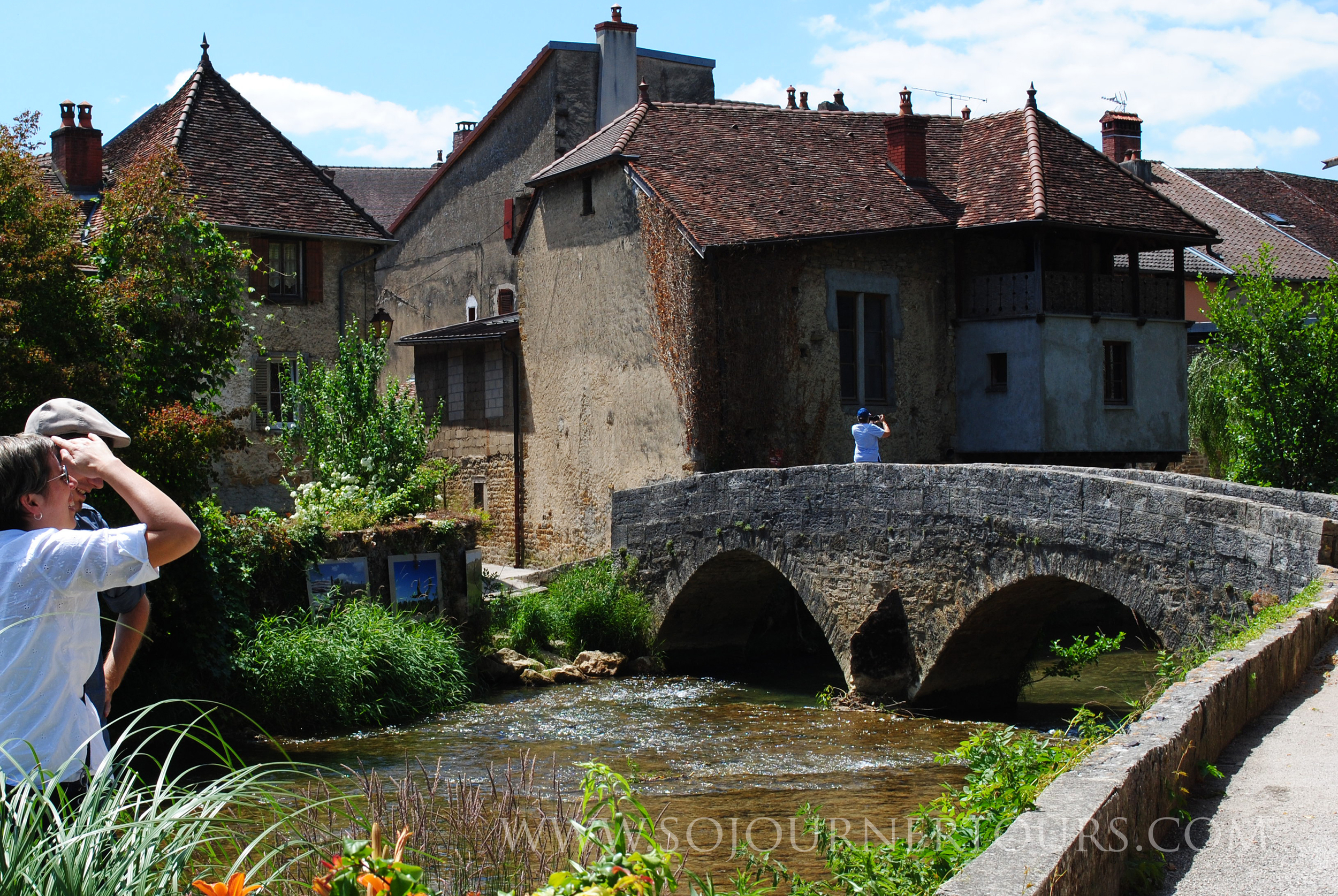 Strolling Along the Ancient Ramparts in Arbois