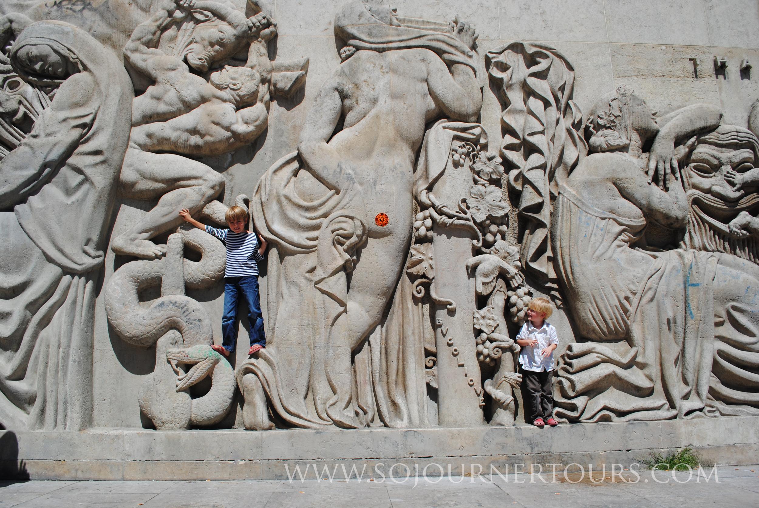 Paris Family Tour: Museum of Modern Art