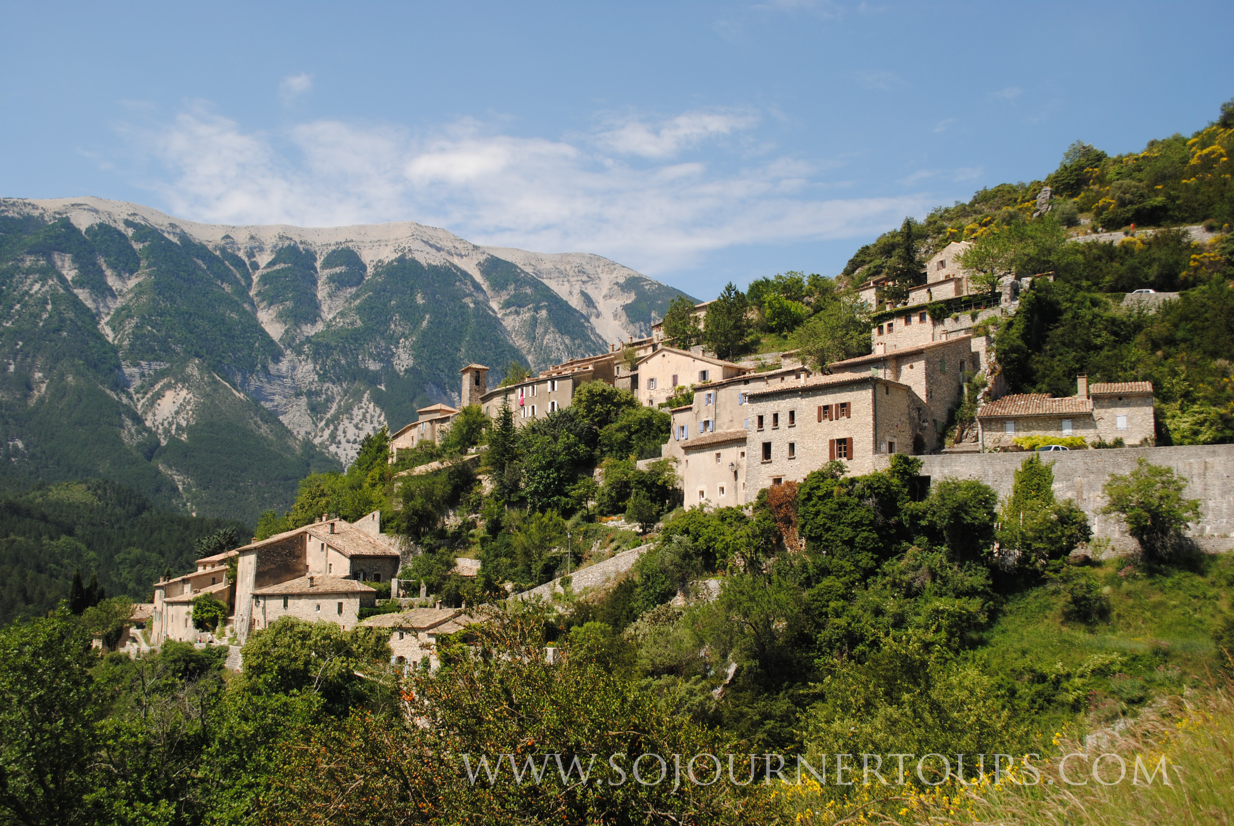 The Drome, France: Sojourner Tours