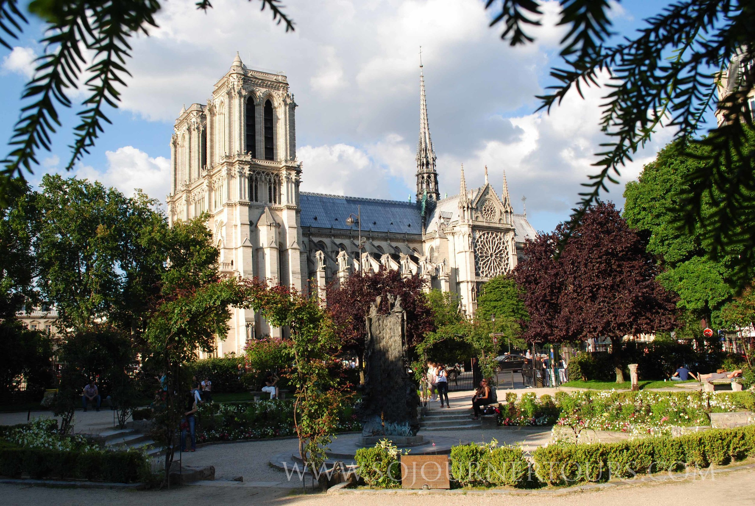 Visiting Notre Dame with Sojourner Tours in Paris