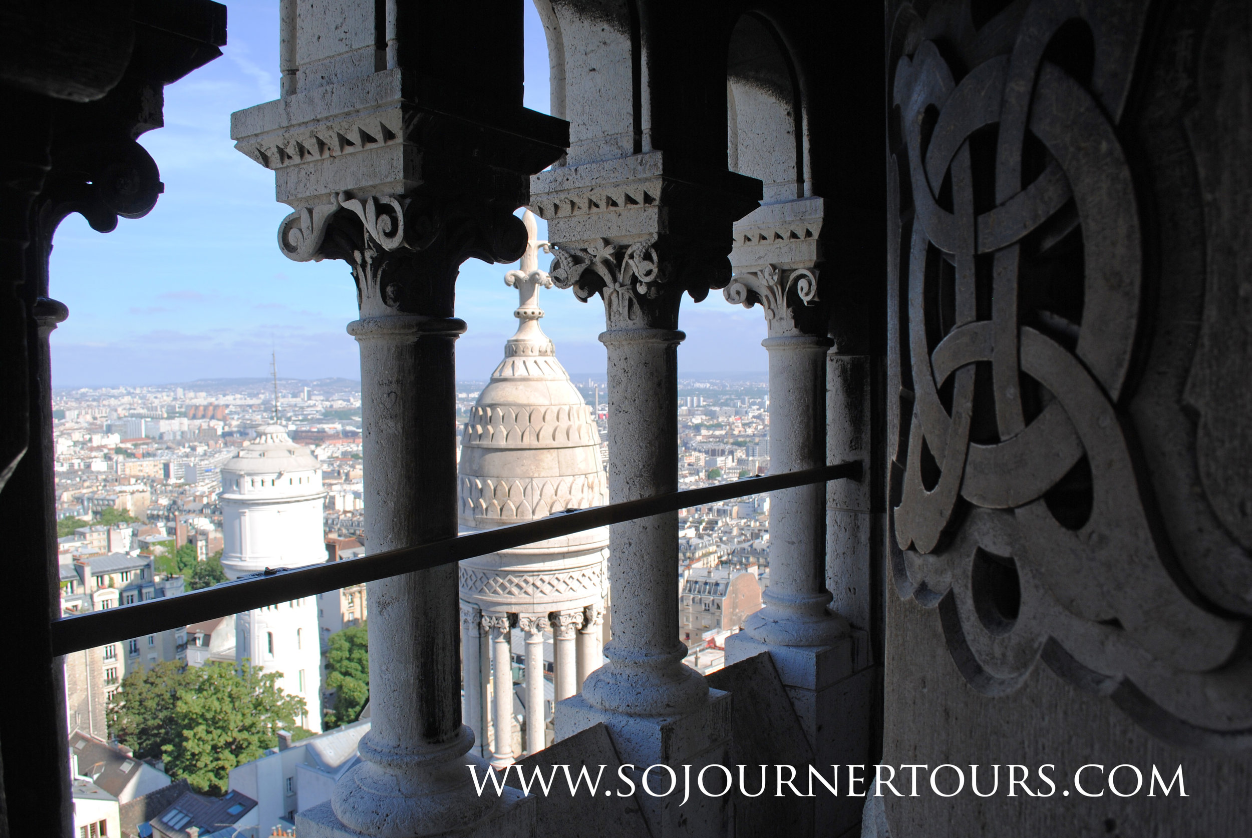 Visiting Paris with Sojourner Tours: Sacre Coeur, Montmartre