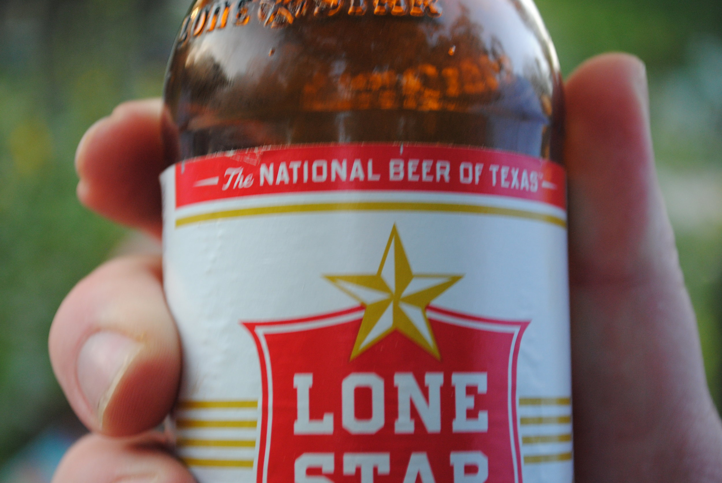 """The """"national"""" beer of Texas…"""