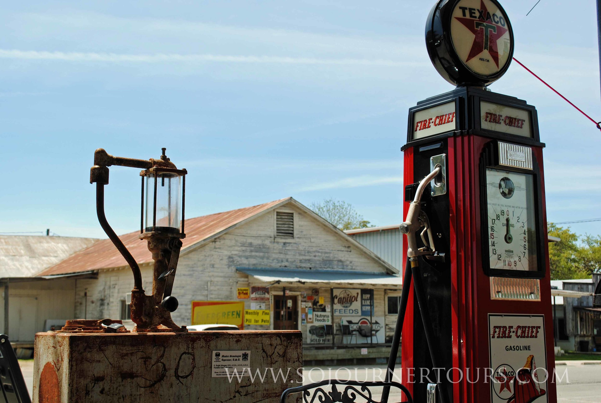 Texas Old Gas Station