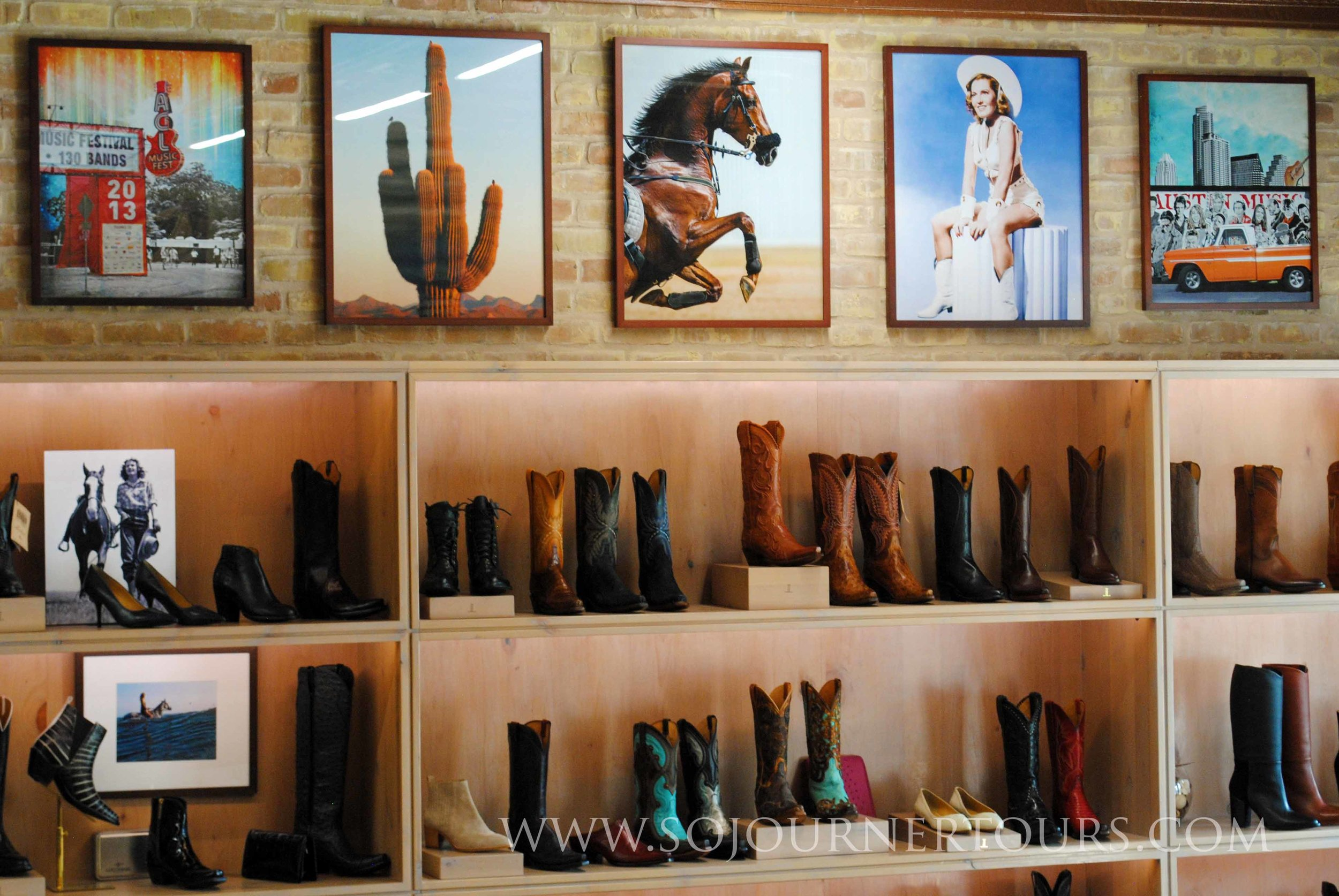 Boot shopping