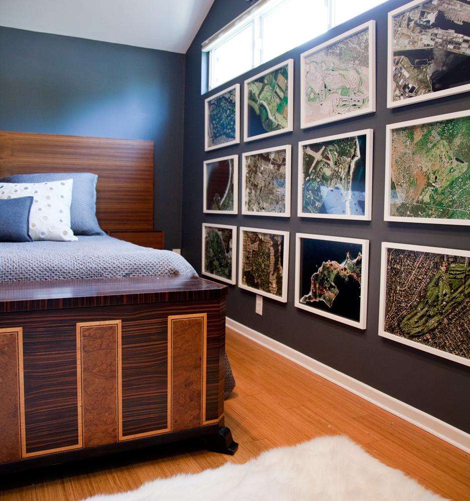 Bachelor Bedroom -