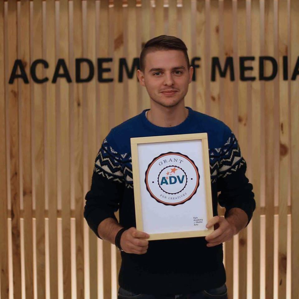 Денис Сорока,  грант холдинга   ADV Group Ukraine