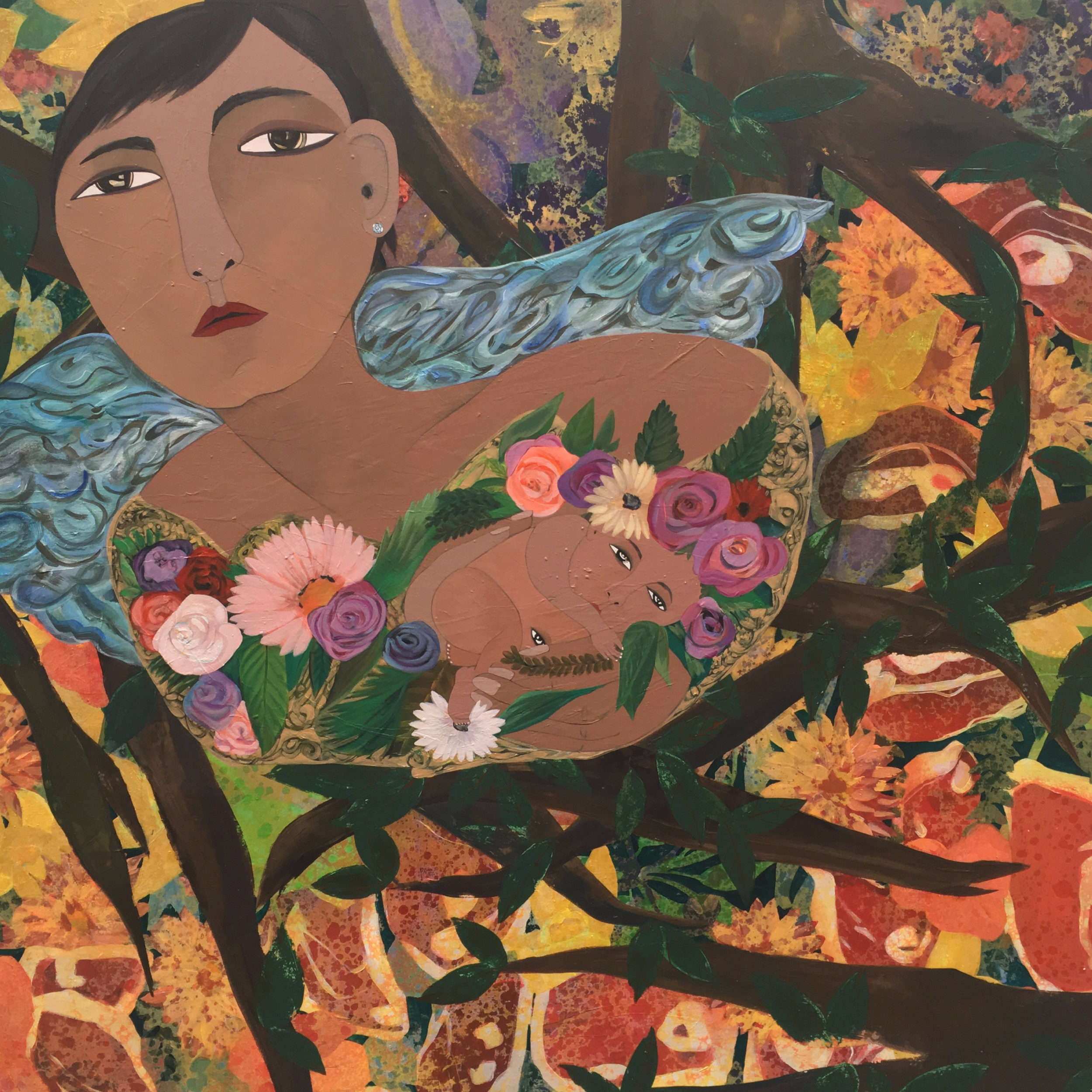 """i've borne a lot of things, she's definitely the best. """"Beauquet"""" 48x60"""