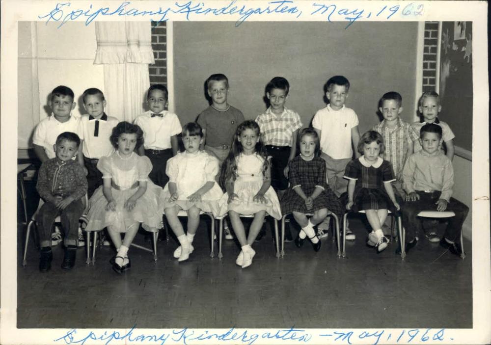 Epiphany Kindergarten 1962